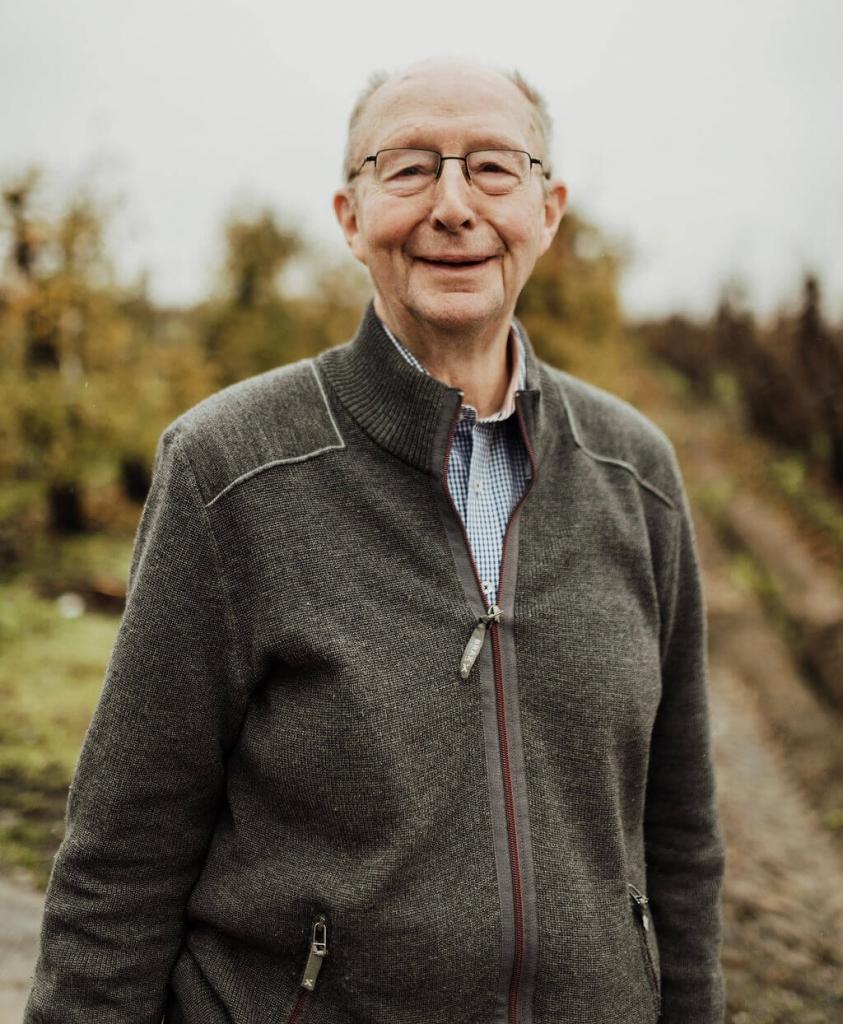Obsterzeuger und Obsthändler Dieter Suhr